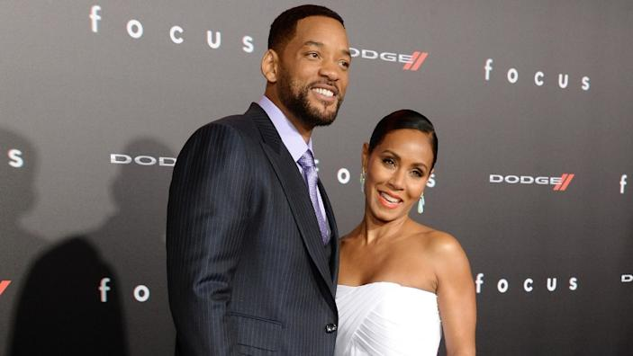 """Will Smith and Jada Pinkett Smith say they've worked through her relationship with August Alsina. <span class=""""copyright"""">(Michael Kovac / Getty Images)</span>"""