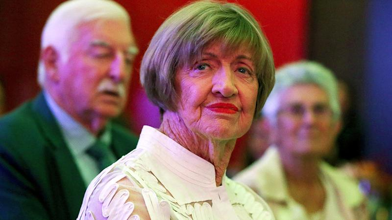 Margaret Court, pictured here at the 2019 Fed Cup Final Official Dinner.