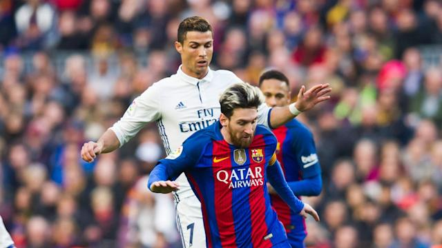 Real Madrid versus Barcelona is made all-the-more intriguing by Cristiano Ronaldo's battle with Lionel Messi, according to Alfonso.