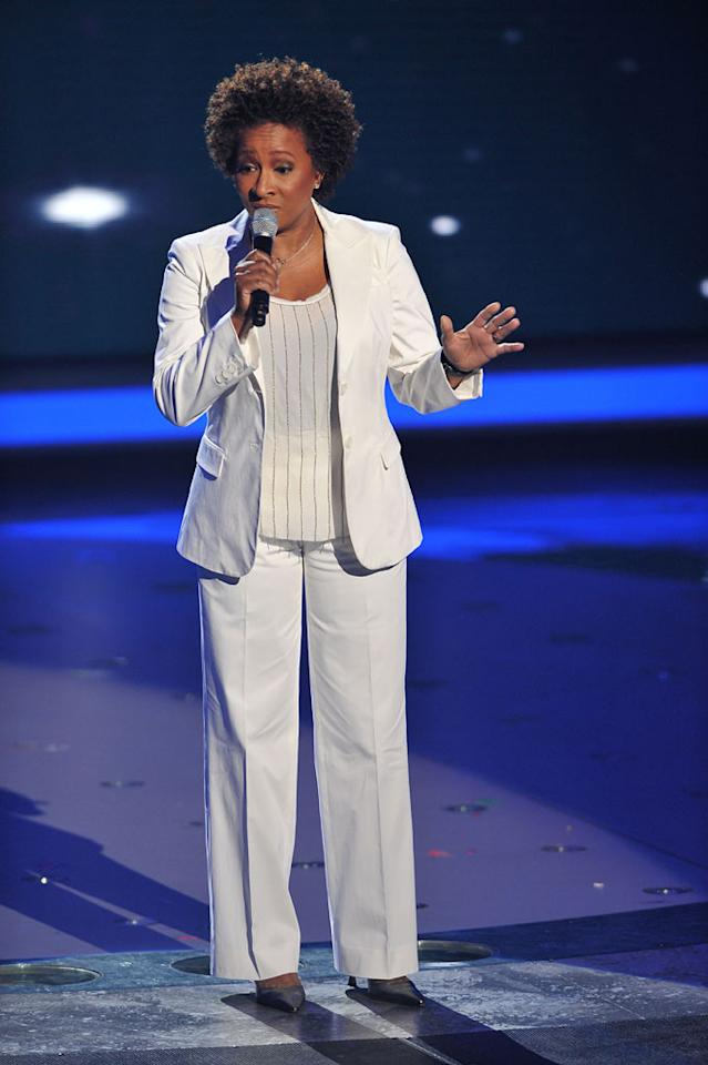 "Wanda Sykes on <a href=""/american-idol/show/34934"">""Idol Gives Back.""</a>"