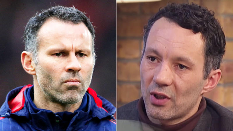 Ryan Giggs (pictured left) and Rhodri Giggs (pictured right). (Images: Getty Images/ITV)