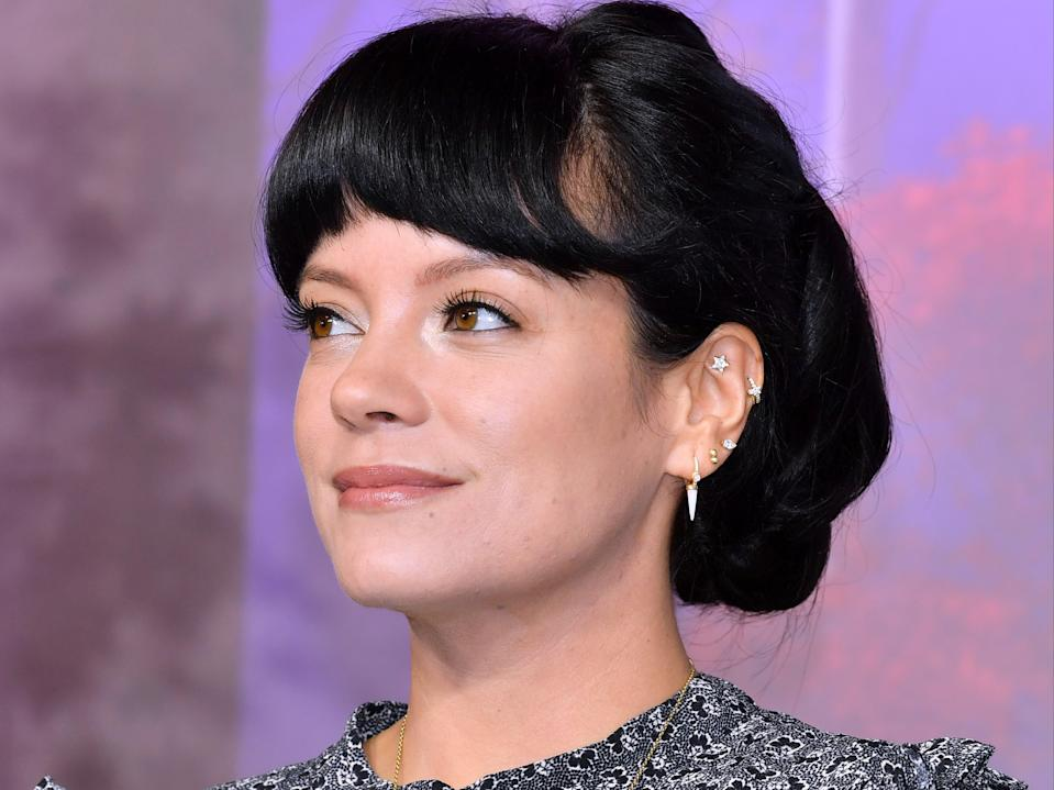 Lily Allen says she has finished a new album (Rex Features)