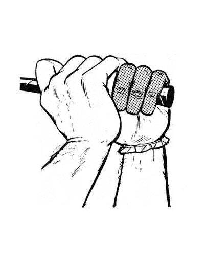 <p>An effective grip requires strong hands, especially the last three fingers of the left hand, which will be the first to let go of the club at the top of the swing.</p> <p>To strengthen these fingers, squeeze the steering wheel of your car with them, as tightly as you can, for 10 seconds every time you drive. This exercise will do more for your game than any drill I can imagine.</p>
