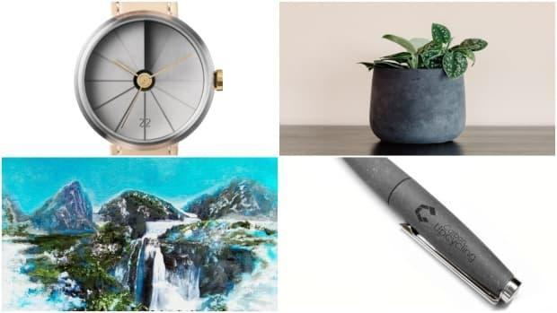 Expedition Air is an online store focused on only selling products made partly from carbon dioxide, including watches, planters, pens and paintings. (Submitted by Expedition Air - image credit)