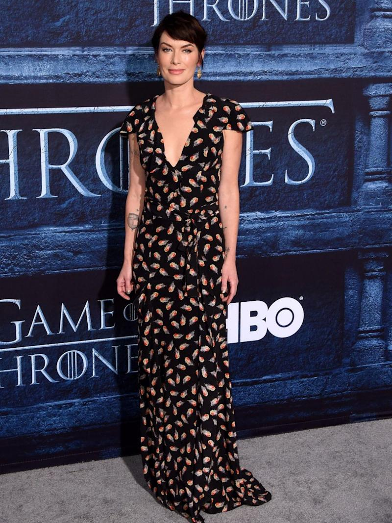 Lena was talking to Time magazine about her character, Queen Cersei Lannister. Source: Getty