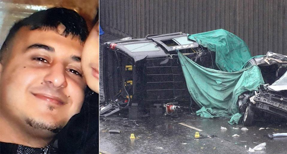 Father of six Imtiaz Mohammed died in the horror smash