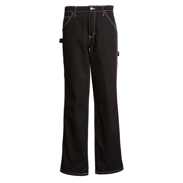 """Pants with a relaxed fit means you can wear them at Thanksgiving and not have to losen your button. $59, Nordstrom. <a href=""""https://shop.nordstrom.com/s/dickies-relaxed-fit-carpenter-pants/5145245?"""">Get it now!</a>"""