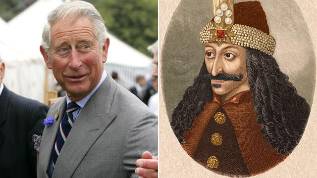 Prince Charles Says He's Related to Dracula