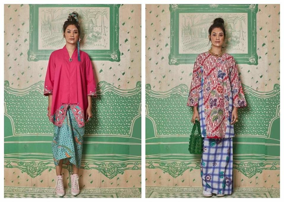 There's something for everyone in Melinda Looi's 58-piece Raya collection. ― Pictures courtesy of Melinda Looi