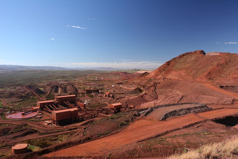 A mining project.
