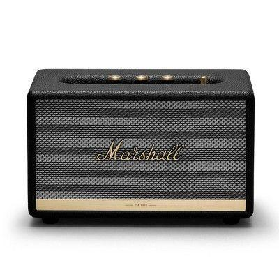 "<p><strong>Marshall</strong></p><p>target.com</p><p><strong>$149.99</strong></p><p><a href=""https://www.target.com/p/marshall-acton-ii-bluetooth-speaker-black/-/A-76486379"" rel=""nofollow noopener"" target=""_blank"" data-ylk=""slk:BUY IT HERE"" class=""link rapid-noclick-resp"">BUY IT HERE</a></p><p>Marshall speakers are an investment for sure, but they are a solid option for a heftier gift. This bluetooth speaker looks old-school, and makes for a cool piece of decor in your home.</p>"