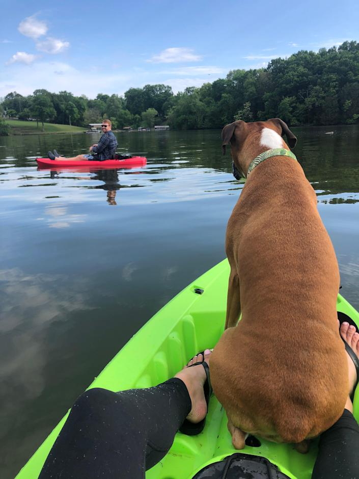 Kayaking the Cumberland River wasn't on our bucket list, but we sure are glad we made a stop in Nashville, Tenn.