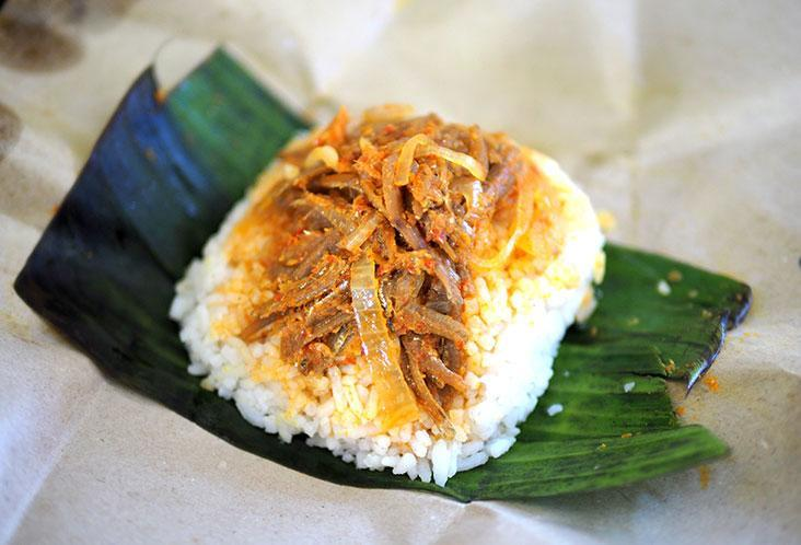 On weekends, tuck into Pangkor Island style 'nasi lemak' with anchovies and onions – Pictures by Lee Khang Yi