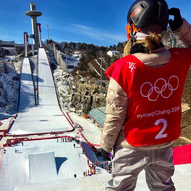 <p>jamieanderson: Dropppppppin' (Photo via Instagram/jamieanderson) </p>