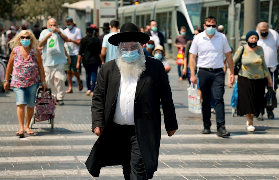 Israelis are also being advised against foreign travel (AFP via Getty Images)