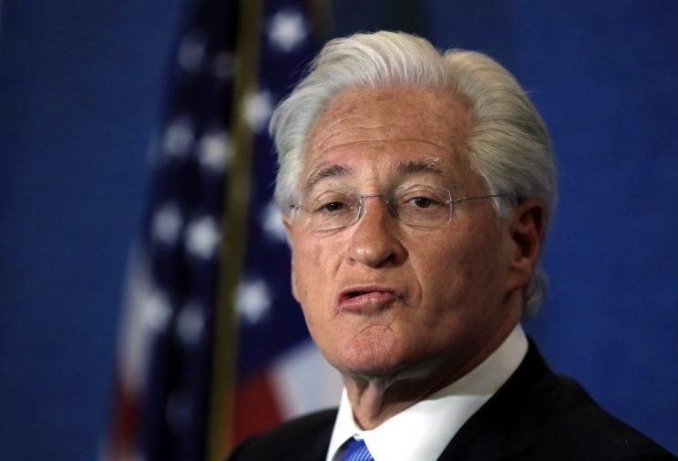 Marc Kasowitz personal attorney of President Donald Trump makes a statement at the National Press Club, following the congressional testimony of former FBI Director James Comey in Washington, Thursday, June 8, 2017. (Photo: Manuel Balce Ceneta/AP)