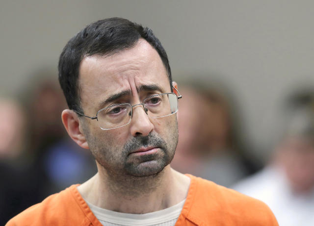 Dr. Larry Nassar alleges he was assaulted in federal prison, where he's serving a 60-year sentence. (AP)