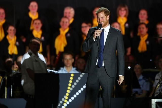 Prince Harry 2018 Invictus Games Opening Ceremony