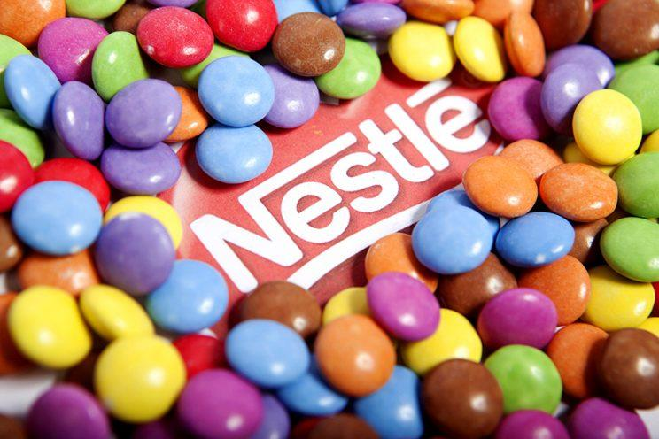 Smarties chocolates. (Photo by: Newscast/UIG via Getty Images)