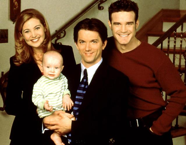 <p>This American remake of a British series starred Jennifer Westfeldt as a grad student hired by a single dad (Jon Patrick Walker) to be a nanny to his infant son. (Premiered August 23, 1998)<br><br>(Photo: Everett Collection) </p>