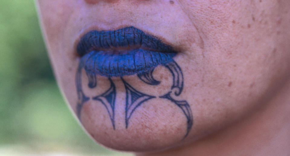 The moko kauae tattoo is considered particularly sacred. (Photo: Getty)