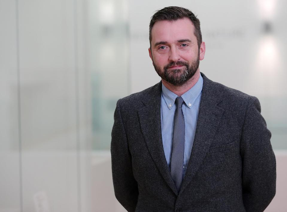 William Blair, Director of Collections for National Museums NI (Darren Kidd/PA)