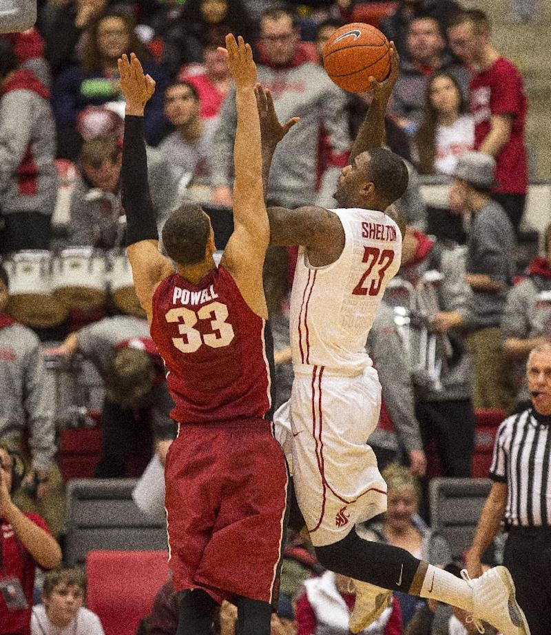 Brown's 30 lead Stanford past Washington St. 69-56