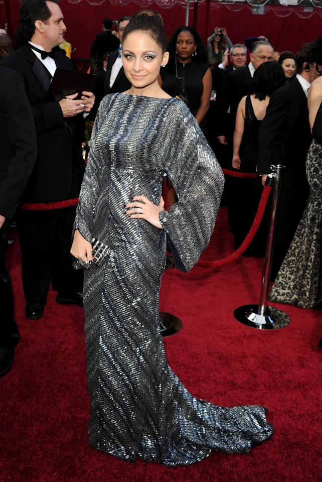 Nicole Richie arrives at the 82nd Annual Academy Awards held at Kodak Theatre on March 7, 2010 in Hollywood, California.