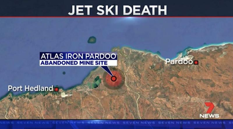 The accident happened at Pardoo, east of Port Hedland. Source: 7 News