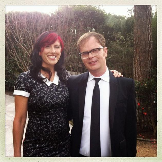 On our way to the sagawards #SAGAwards - @rainnwilson