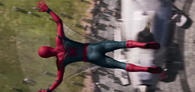 The web wings in the teaser (Photo: Marvel)