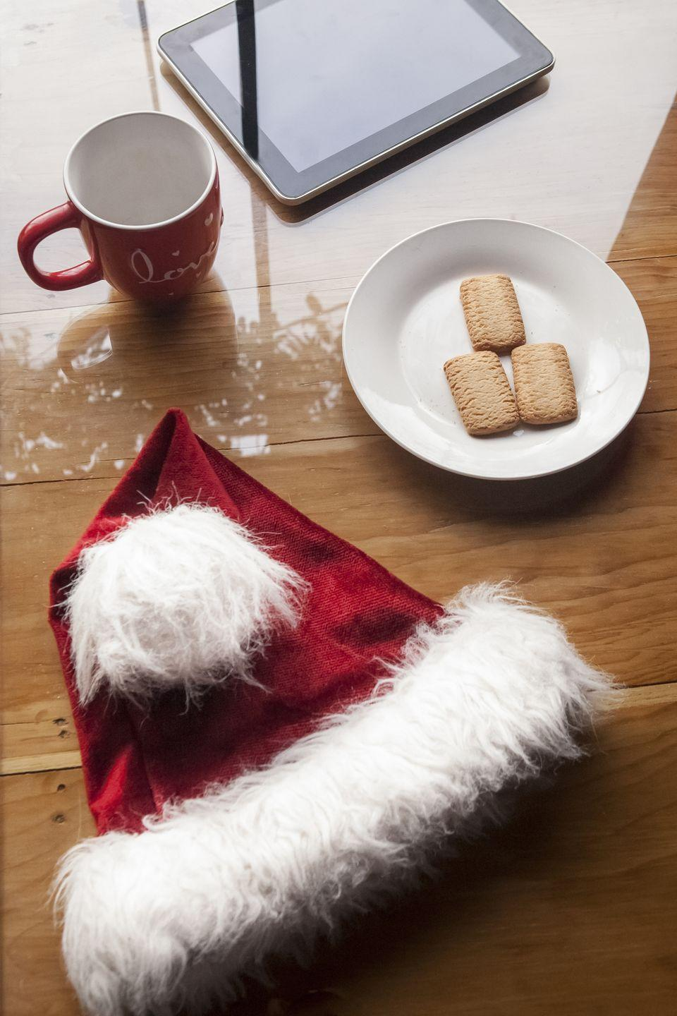 "<p>This tactile version of the Christmas scents challenge doesn't require any special equipment; just a Santa hat and your imagination. It works for very young kids, but older ones will enjoy it, too. Round up all the furry caps (stockings work, too!) in your house for some all-ages fun.</p><p> <em><a href=""https://www.everydayhealth.com/healthy-living/healthy-home/fun-christmas-games-everyone-can-play/"" rel=""nofollow noopener"" target=""_blank"" data-ylk=""slk:Get the tutorial at Everyday Health »"" class=""link rapid-noclick-resp"">Get the tutorial at Everyday Health »</a></em></p>"