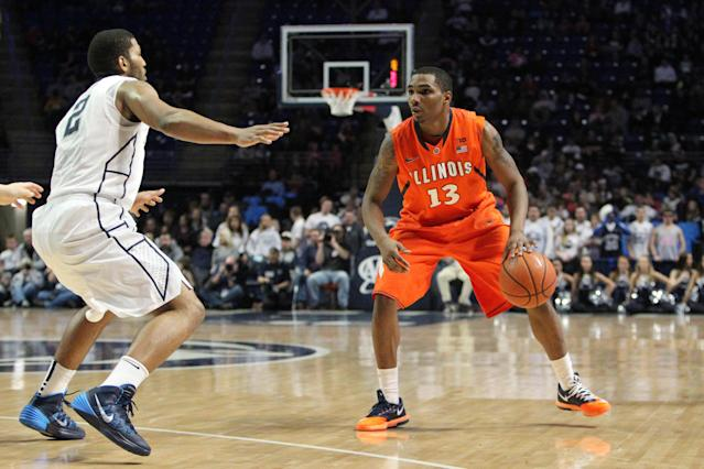 Illinois loses starting point guard Tracy Abrams to an ACL tear
