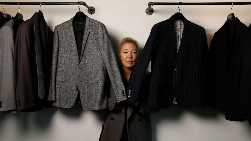 Stylist Jeanne Yang, in her Beverly Hills studio, has made a career out of dressing some of Hollywood's top stars.