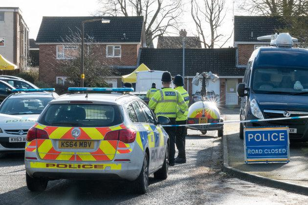 The cordon around the Skripal home has been widened