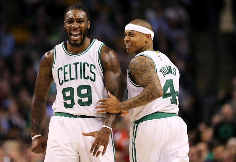 Basketball - Celtics cool Heat to join Cavs atop East