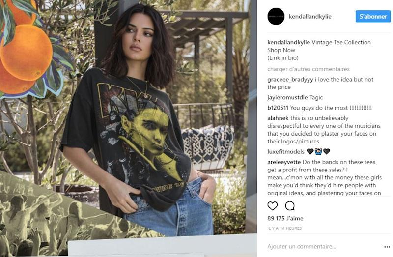 Kylie And Kendall Jenner Launch A Vintage T Shirt Line