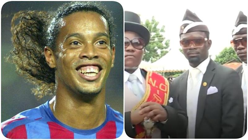 Pallbearer Benjamin Aidoo Wishes to Take Ronaldinho on His Final Journey, Says 'It Would be an Honour'