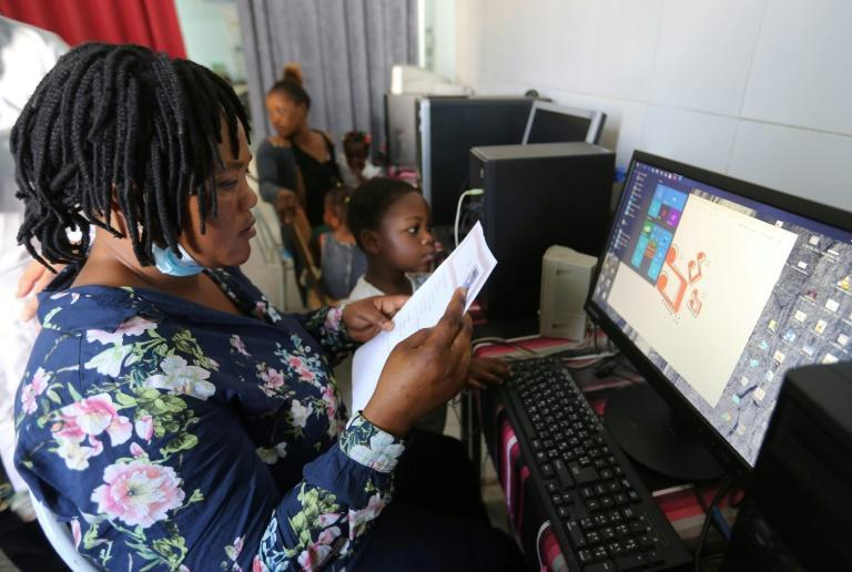 Computer classes are also offered to the migrants, many of whom originate from sub-Saharan Africa