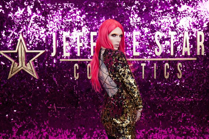 Jeffree Star attends the 3rd Annual RuPaul's DragCon at Los Angeles Convention Center on April 30, 2017 in Los Angeles, California.