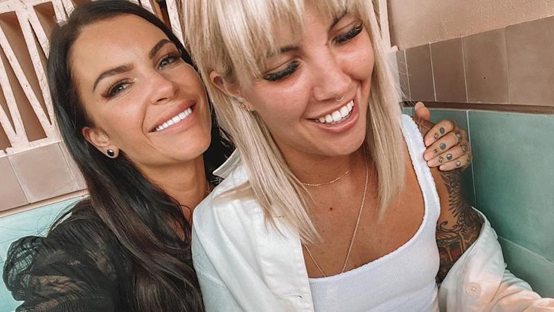 Married At First Sight's Tash Herz has revealed she and her girlfriend Madison Hewitt have split. Photo: Instagram/Tash Herz