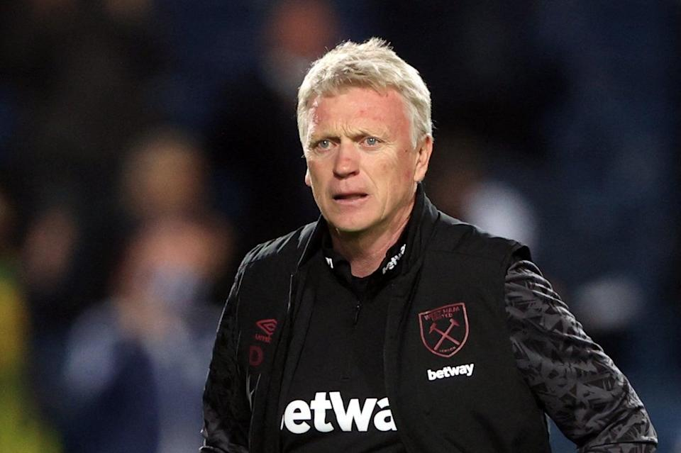 <p>David Moyes' West Ham are within touching distance of European football next season</p> (POOL/AFP via Getty Images)