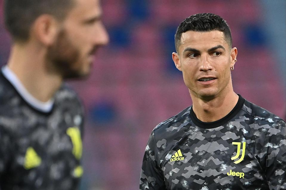 <p>Ronaldo finished the season with 29 goals</p> (AFP via Getty Images)