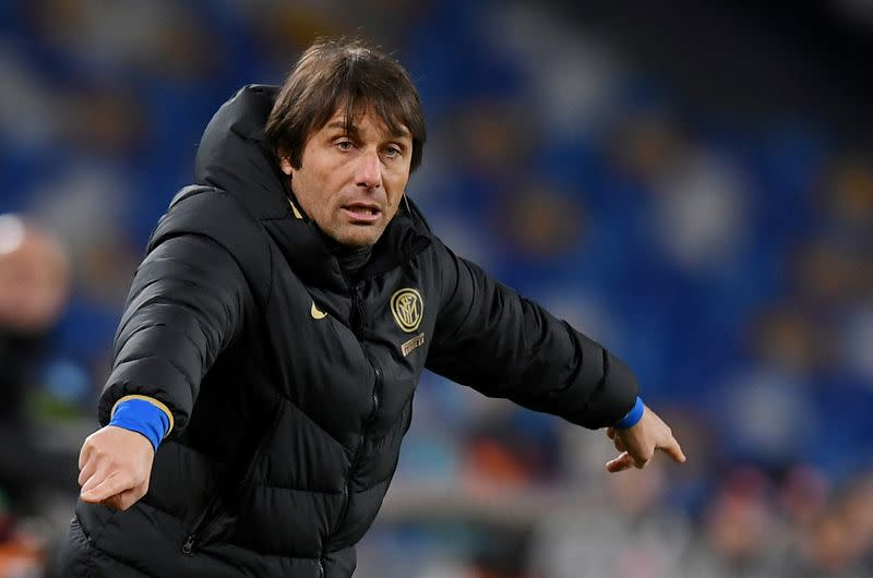 Sacking Conte cost Chelsea 26.6 million pounds, accounts show