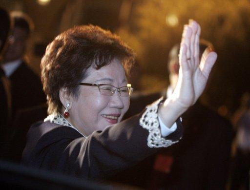 Taiwan's ex-vice president Annette Lu is a former political prisoner and human rights advocate