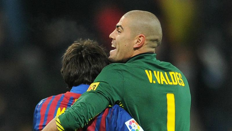 Messi's attitude can never be questioned, says ex-Barcelona team-mate Valdes