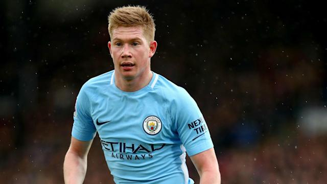 Manchester City's Kevin De Bruyne has been passed fit for the Premier League leaders' home meeting with Watford on Tuesday.