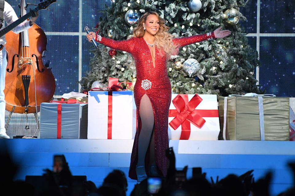 Mariah Carey isn't alone in wanting to get on with Christmas. (Photo: Kevin Mazur/Getty Images for MC)