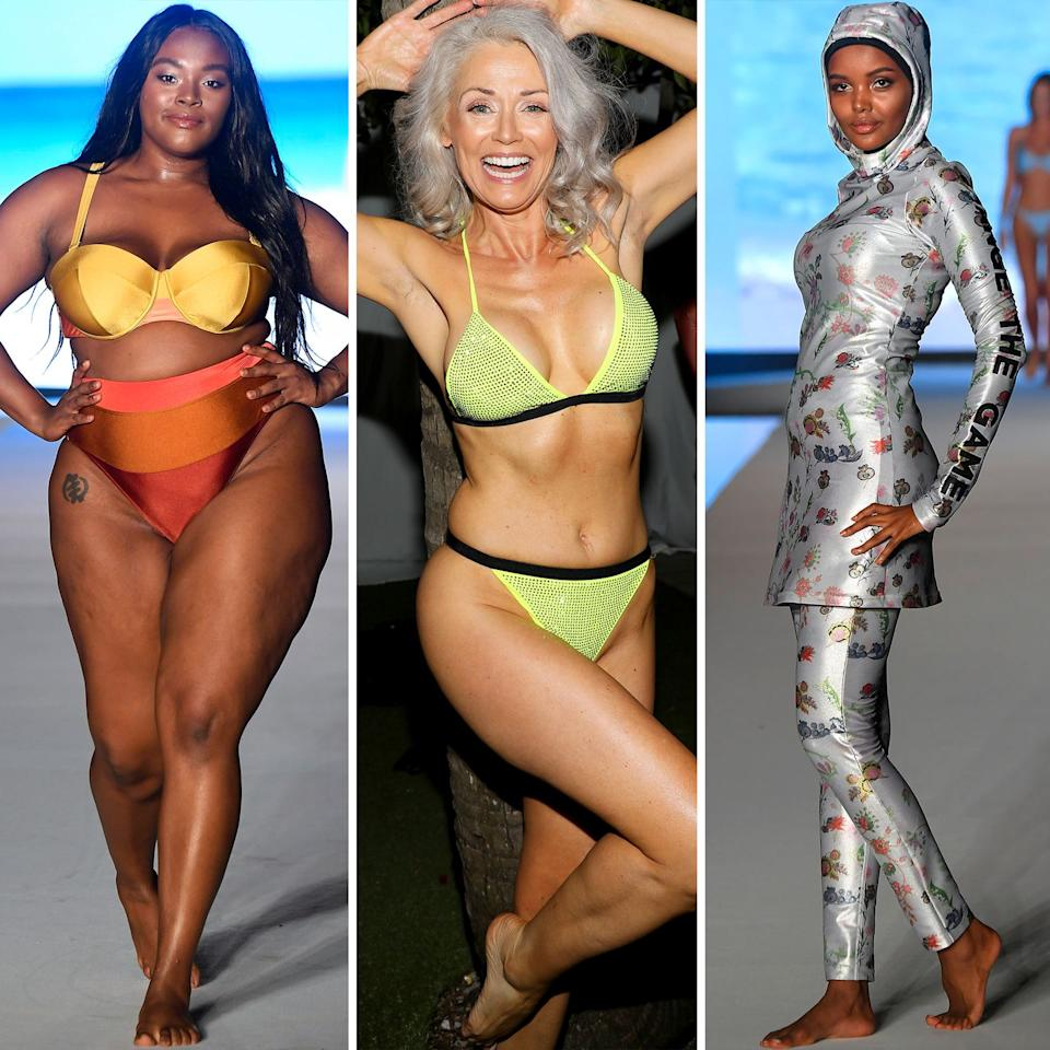 <p>During a week of many spray tans and blond bombshells, <em>Sports Illustrated Swimsuit</em>'s runway served as a breath of fresh air. The show, which was opened by Halima Aden wearing a Cynthia Rowley burkini, featured models of all ages, races, sizes, and backgrounds. </p><p>Aside from being both inclusive and diverse, the runway served as a huge opportunity for up-and-coming models. The show had an open casting call, and models from this year's <em>Swimsuit Issue</em> mentored the contestants throughout the process. In the end, 16 new models were selected to walk alongside the <em>Sports Illustrated</em> <em>Swimsuit</em> models. </p>