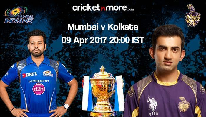 IPL 10: In-form KKR challenge Mumbai Indians at home